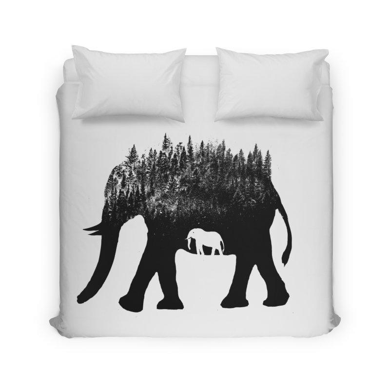 Nature elephant Home Duvet by barmalisiRTB