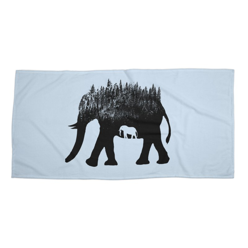 Nature elephant Accessories Beach Towel by barmalisiRTB