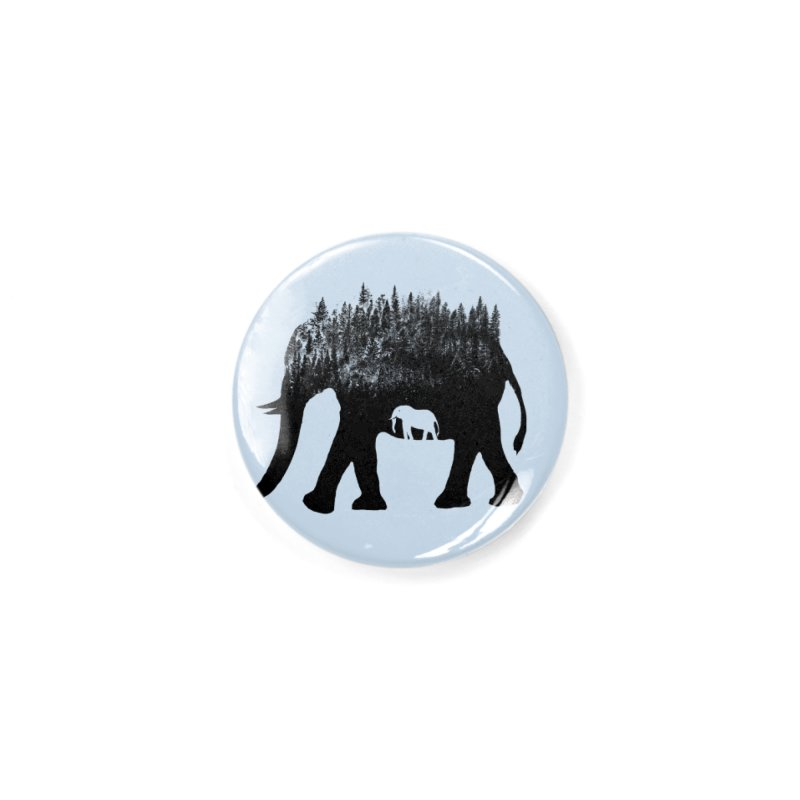 Nature elephant Accessories Button by barmalisiRTB