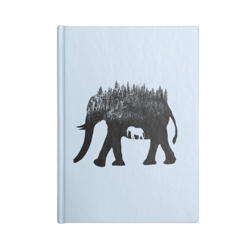 Nature elephant Accessories Notebook by barmalisiRTB