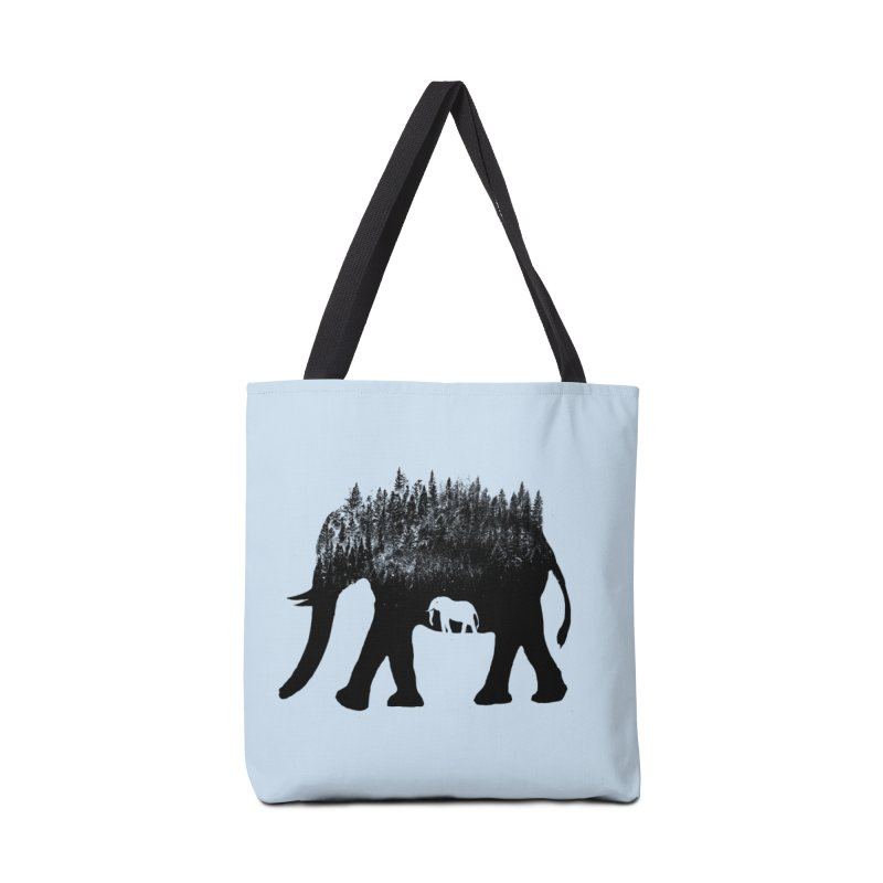 Nature elephant Accessories Bag by barmalisiRTB
