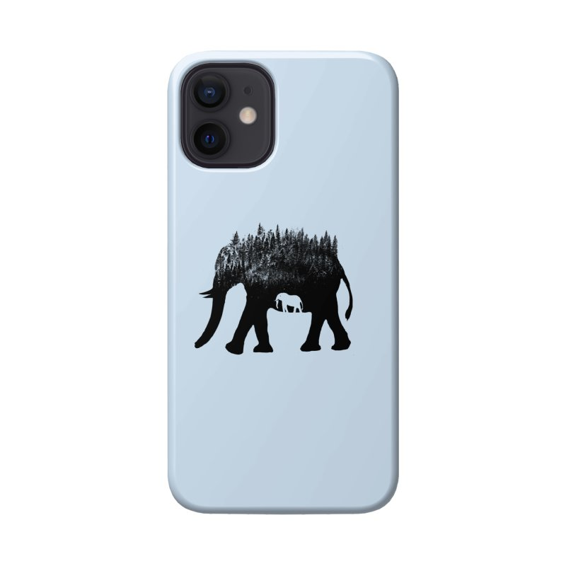 Nature elephant Accessories Phone Case by barmalisiRTB