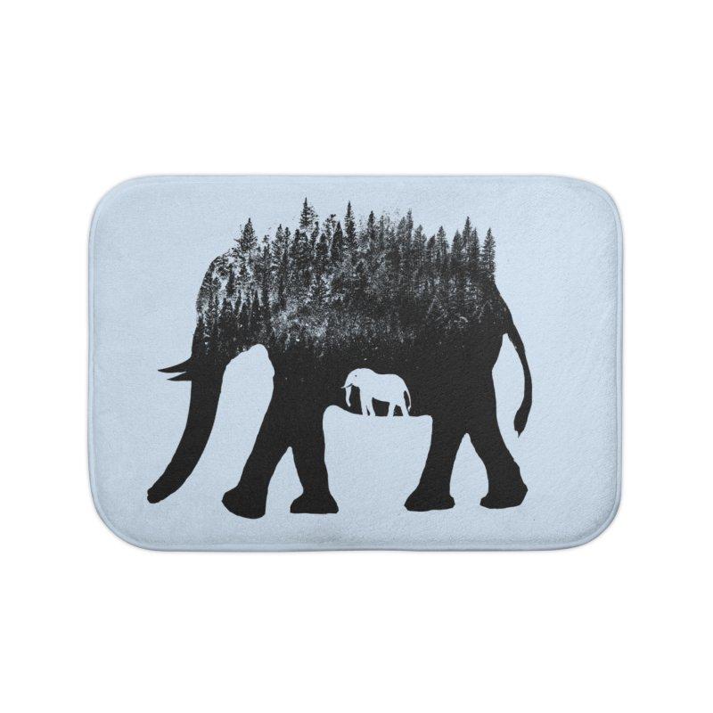 Nature elephant Home Bath Mat by barmalisiRTB