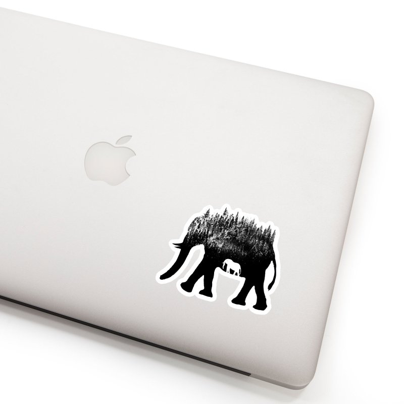 Nature elephant Accessories Sticker by barmalisiRTB