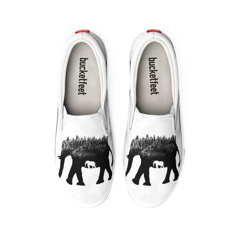 Nature elephant Women's Shoes by barmalisiRTB