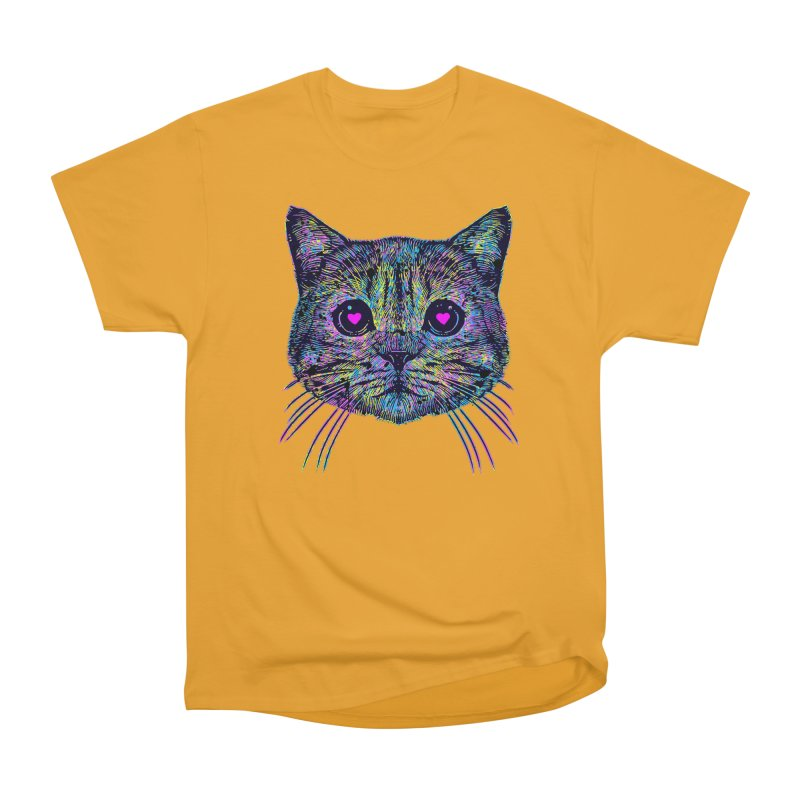 Love Cat Men's Heavyweight T-Shirt by barmalisiRTB