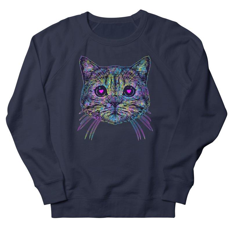 Love Cat Women's French Terry Sweatshirt by barmalisiRTB