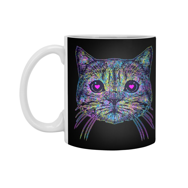 Love Cat Accessories Mug by barmalisiRTB