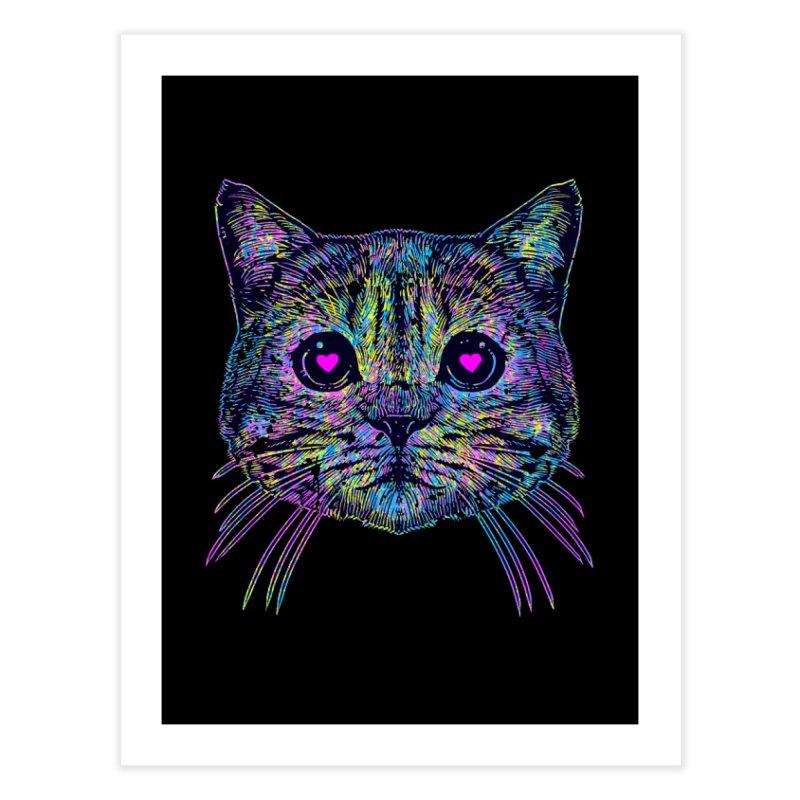 Love Cat Home Fine Art Print by barmalisiRTB