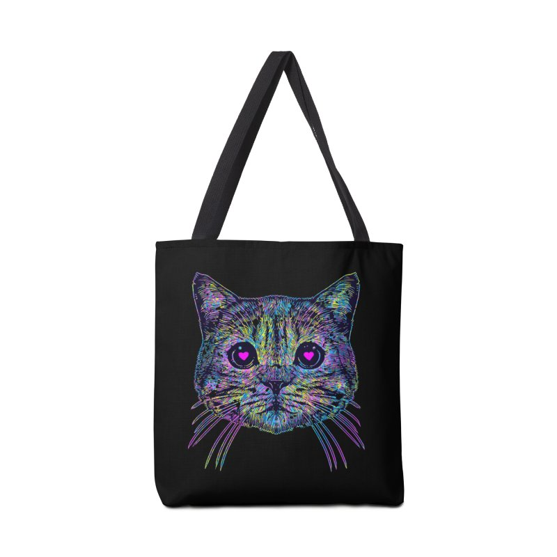 Love Cat Accessories Bag by barmalisiRTB