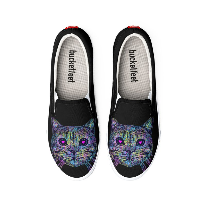 Love Cat Men's Shoes by barmalisiRTB