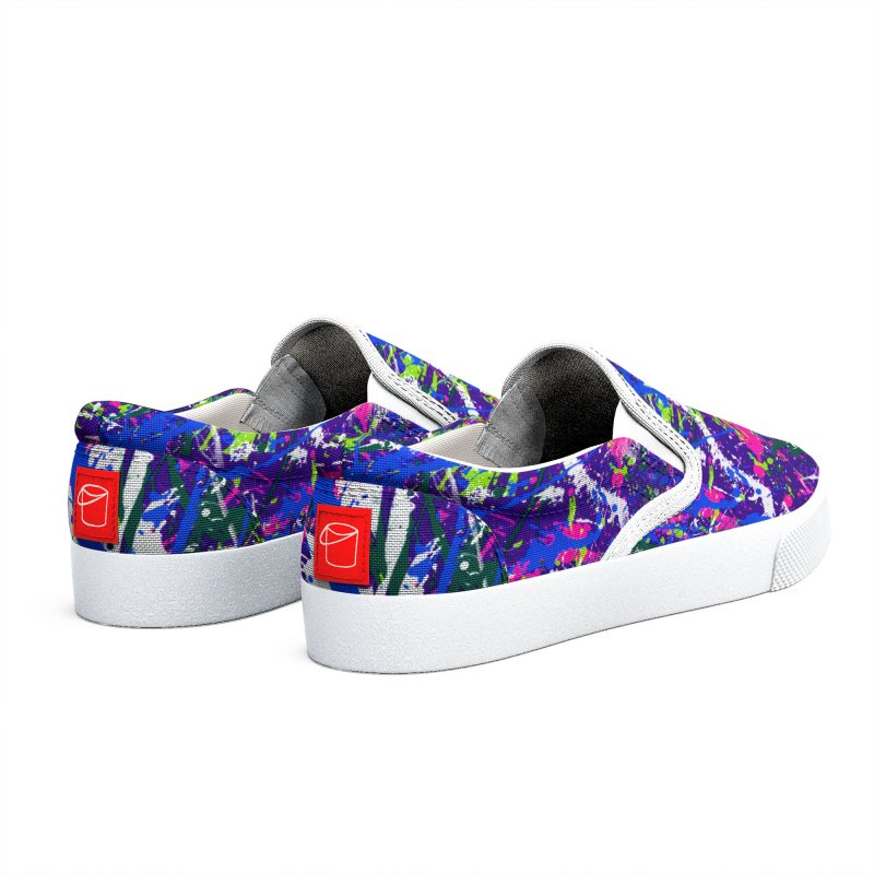 Abstract fans One Women's Shoes by barmalisiRTB