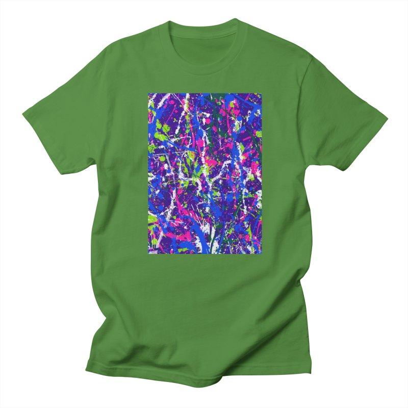 Abstract fans One Men's T-Shirt by barmalisiRTB
