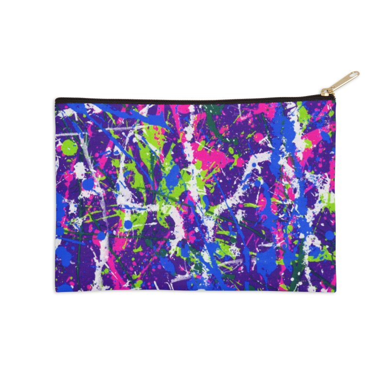Abstract fans One Accessories Zip Pouch by barmalisiRTB