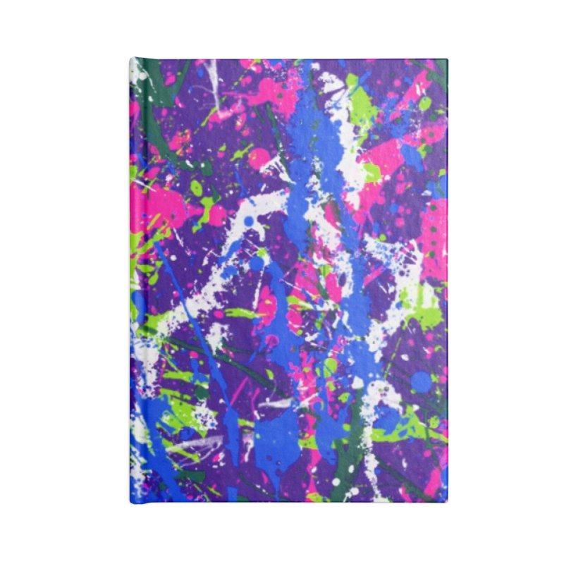 Abstract fans One Accessories Notebook by barmalisiRTB