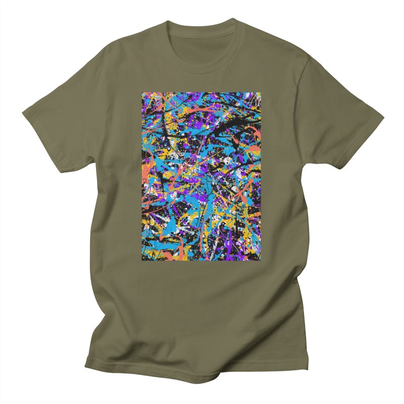 Abstract fans Two Men's T-Shirt by barmalisiRTB
