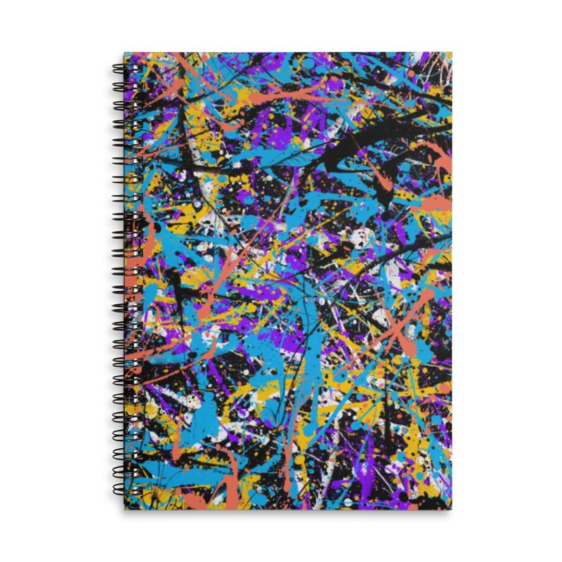 Abstract fans Two Accessories Notebook by barmalisiRTB