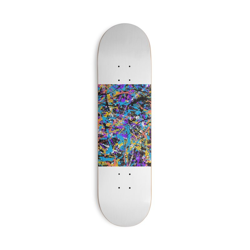 Abstract fans Two Accessories Skateboard by barmalisiRTB