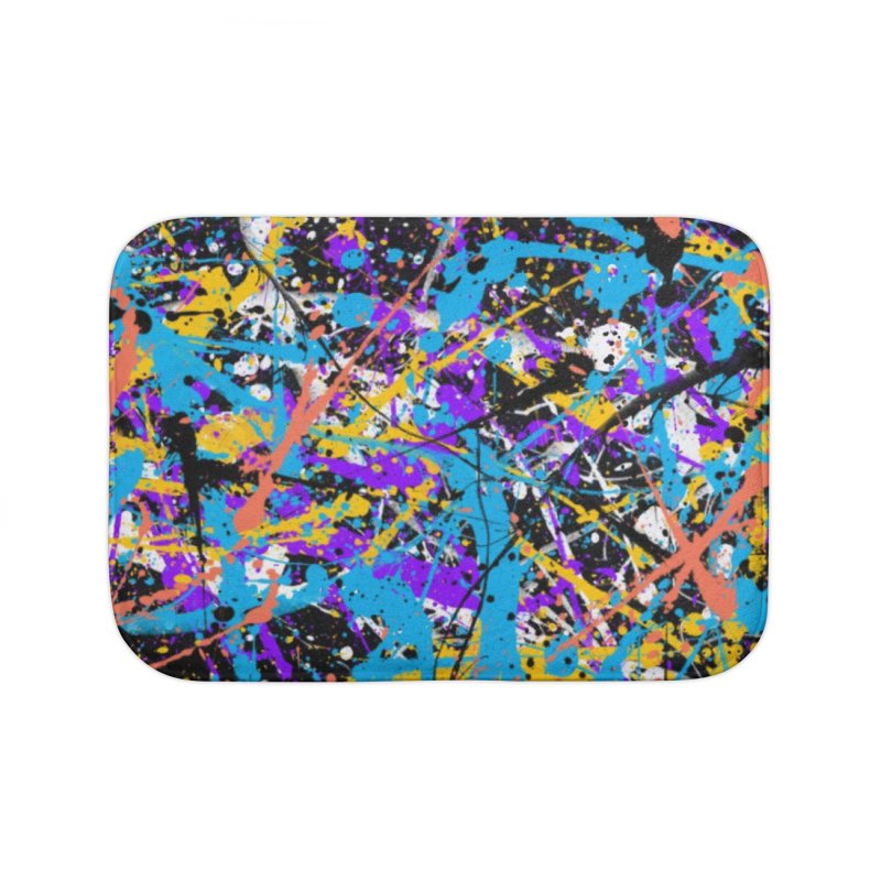 Abstract fans Two Home Bath Mat by barmalisiRTB
