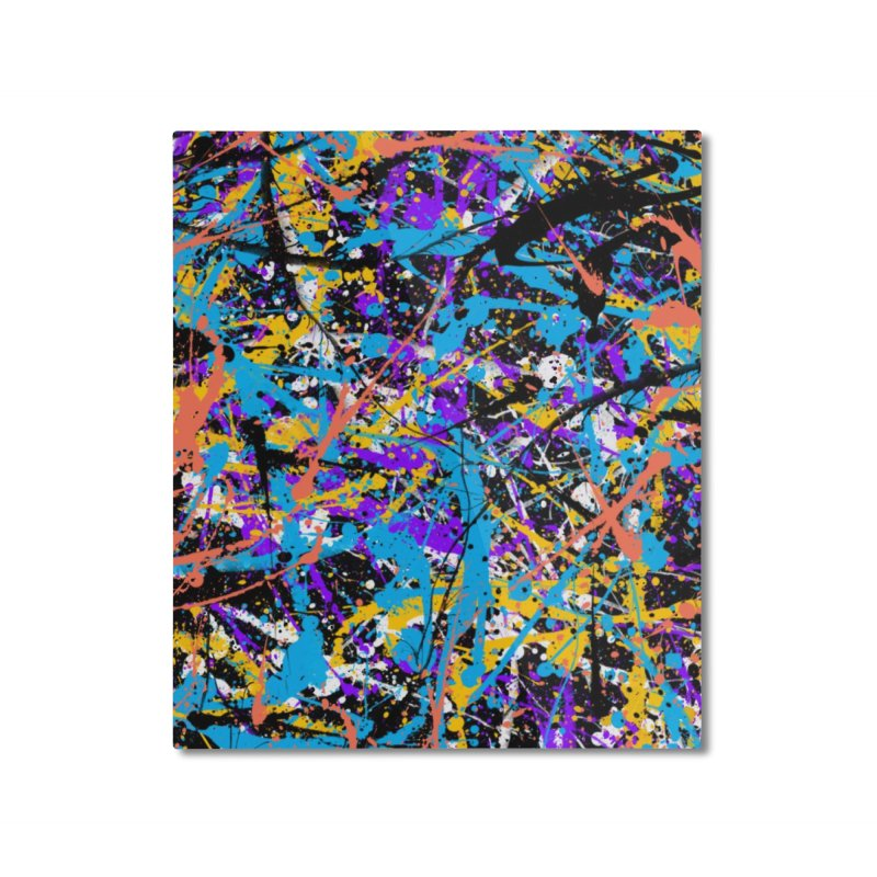 Abstract fans Two Home Mounted Aluminum Print by barmalisiRTB