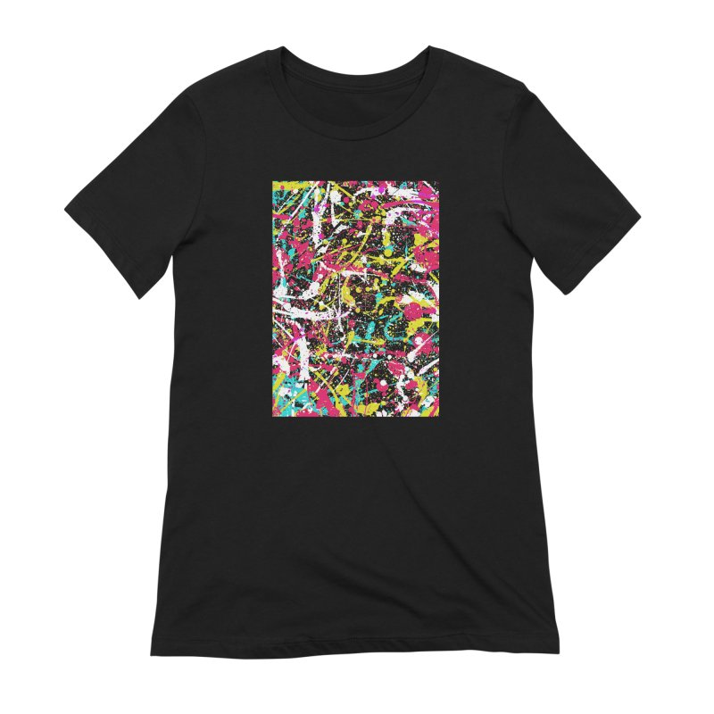 Abstract Fans three Women's Extra Soft T-Shirt by barmalisiRTB