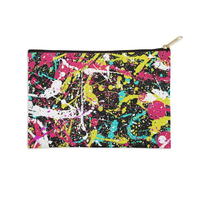 Abstract Fans three Accessories Zip Pouch by barmalisiRTB