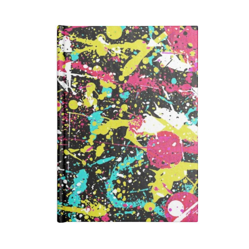 Abstract Fans three Accessories Notebook by barmalisiRTB