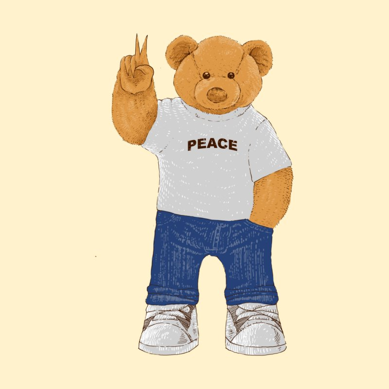 Peace Bear by barmalisiRTB