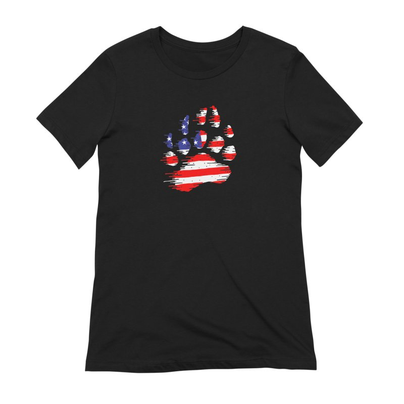 American Bear Paw Women's Extra Soft T-Shirt by barmalisiRTB