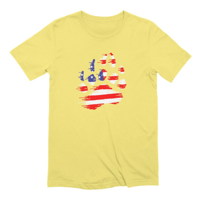 American Bear Paw Men's Extra Soft T-Shirt by barmalisiRTB