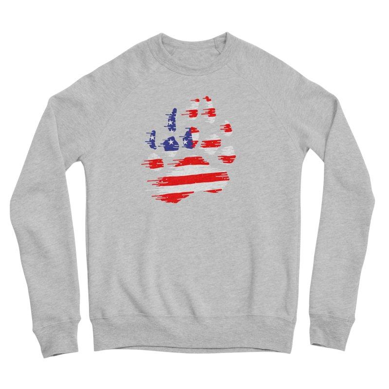 American Bear Paw Men's Sponge Fleece Sweatshirt by barmalisiRTB