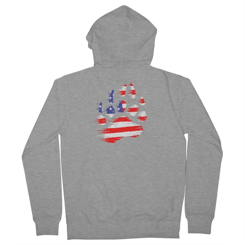American Bear Paw Men's French Terry Zip-Up Hoody by barmalisiRTB