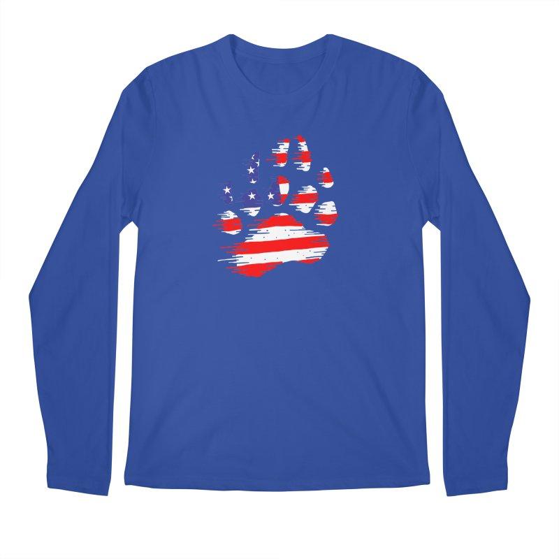 American Bear Paw Men's Regular Longsleeve T-Shirt by barmalisiRTB