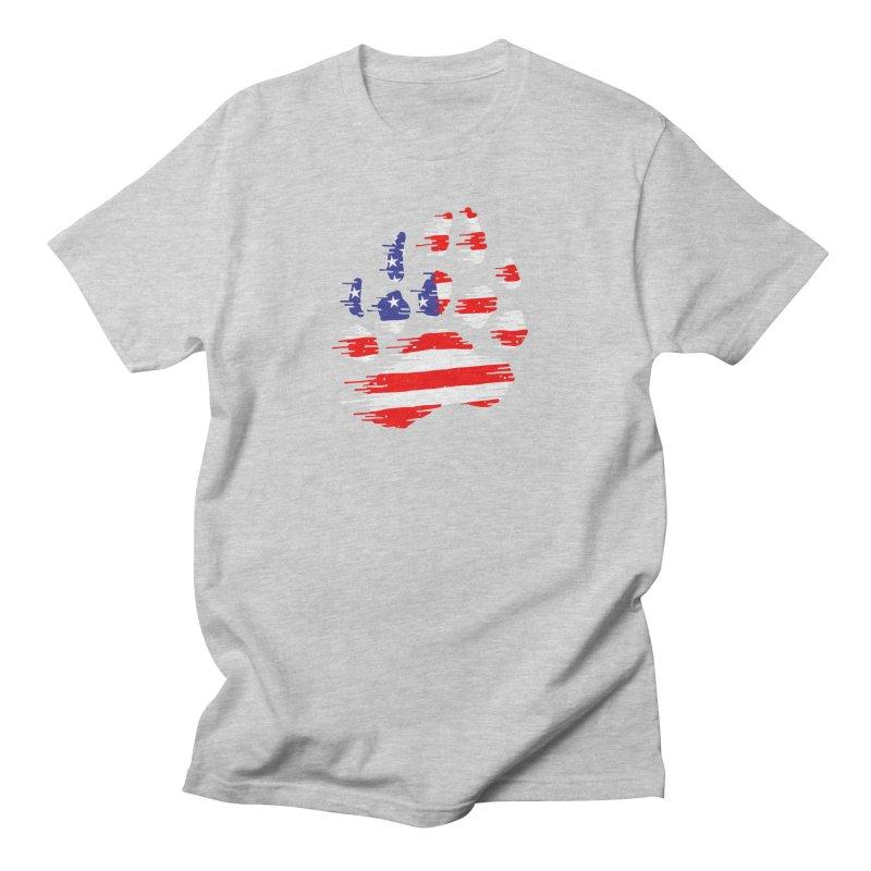 American Bear Paw Men's Regular T-Shirt by barmalisiRTB