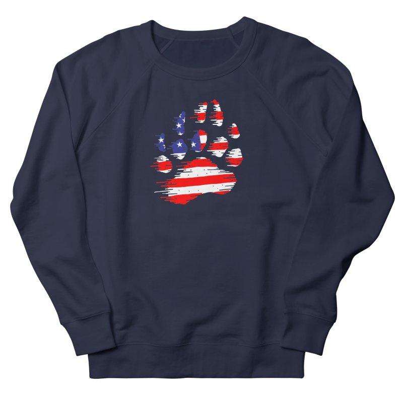 American Bear Paw Men's French Terry Sweatshirt by barmalisiRTB