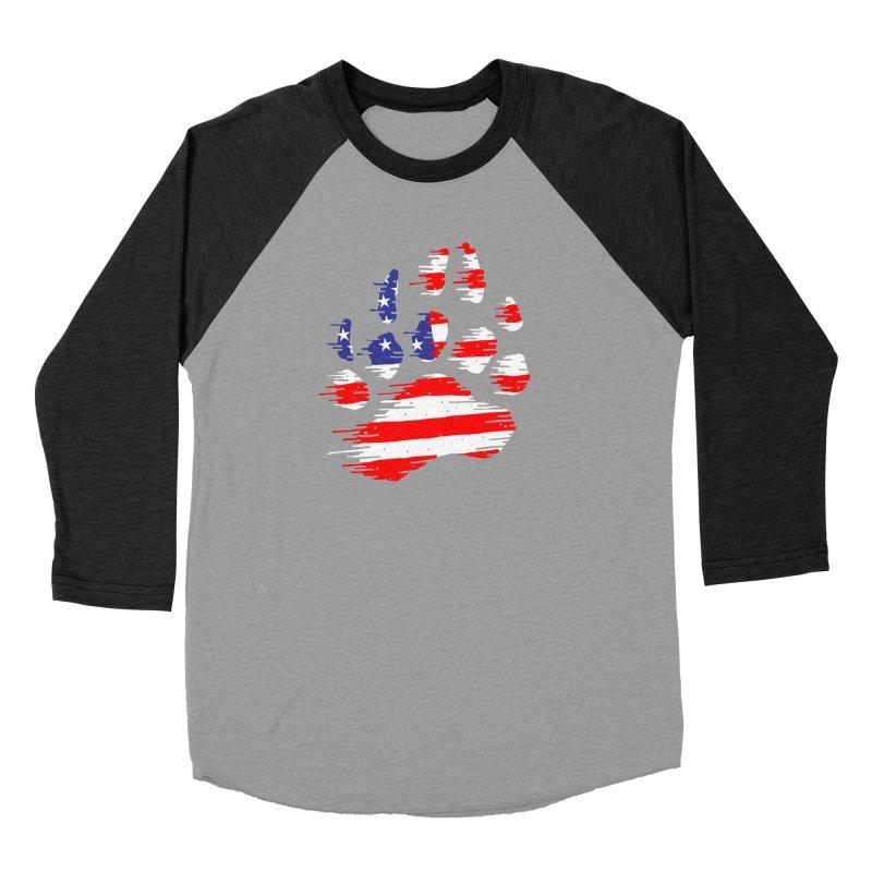 American Bear Paw Women's Baseball Triblend Longsleeve T-Shirt by barmalisiRTB