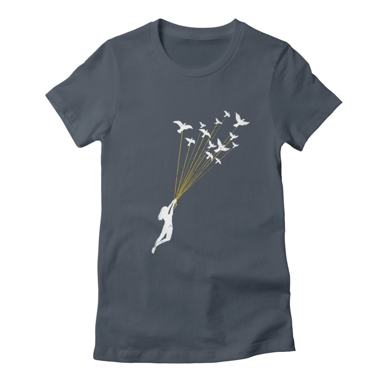 Just believe in your dream Women's Fitted T-Shirt by barmalisiRTB