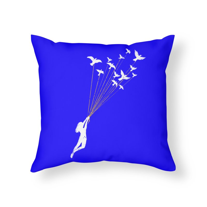 Just believe in your dream Home Throw Pillow by barmalisiRTB