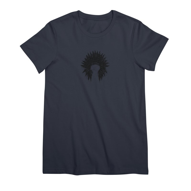 Native American chief Women's Premium T-Shirt by barmalisiRTB