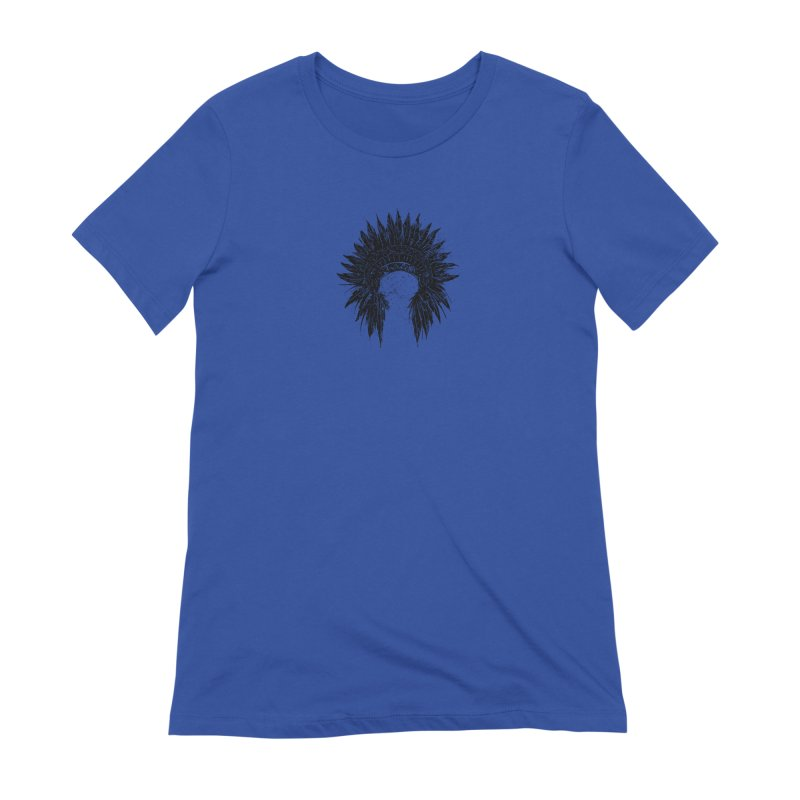 Native American chief Women's Extra Soft T-Shirt by barmalisiRTB