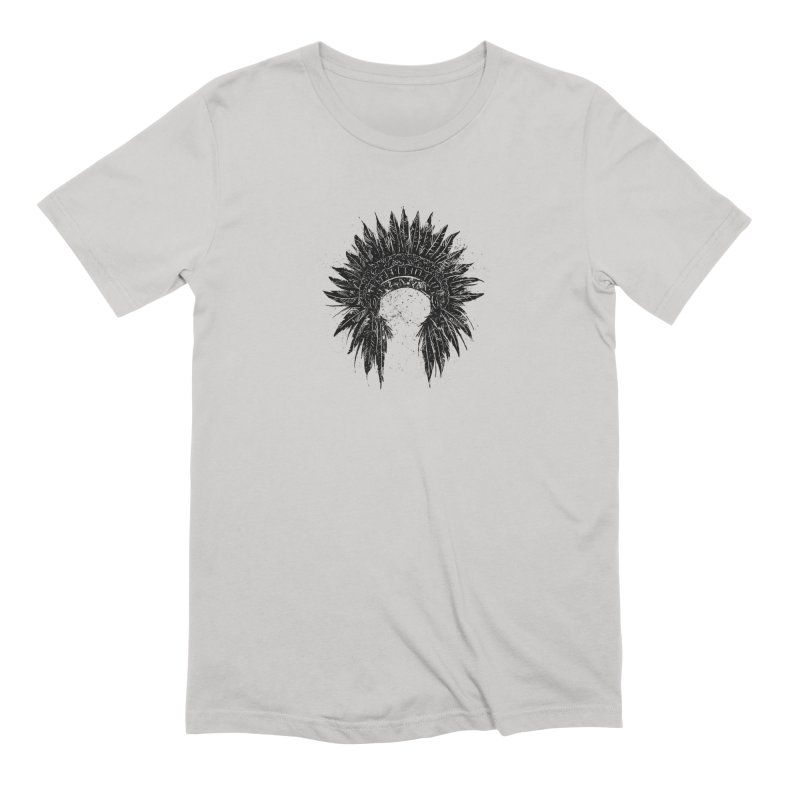 Native American chief Men's Extra Soft T-Shirt by barmalisiRTB