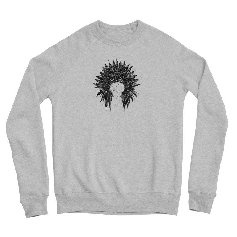 Native American chief Men's Sponge Fleece Sweatshirt by barmalisiRTB