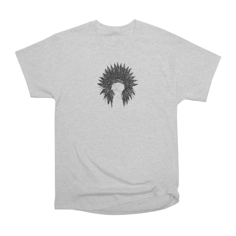 Native American chief Men's Heavyweight T-Shirt by barmalisiRTB