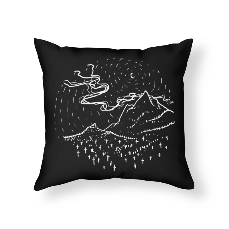 The nature of death Home Throw Pillow by barmalisiRTB