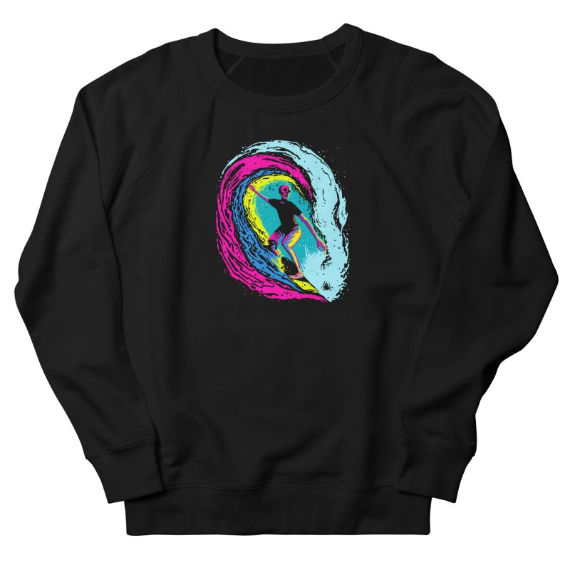 Enjoy Surfing Women's French Terry Sweatshirt by barmalisiRTB