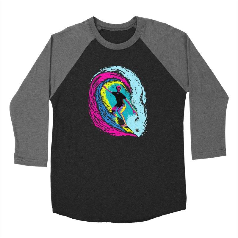 Enjoy Surfing Women's Baseball Triblend Longsleeve T-Shirt by barmalisiRTB