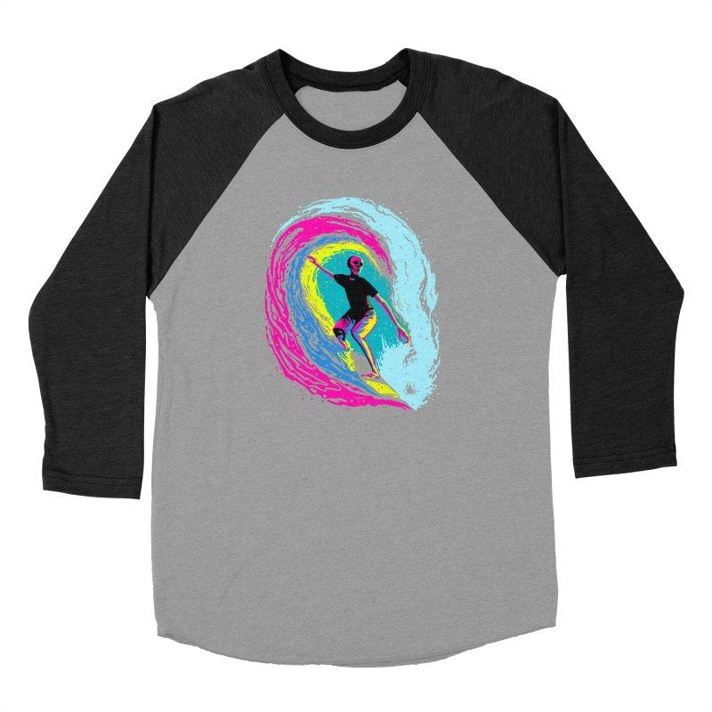 Enjoy Surfing Men's Baseball Triblend Longsleeve T-Shirt by barmalisiRTB
