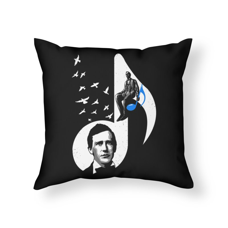 Stephen Foster Home Throw Pillow by barmalisiRTB