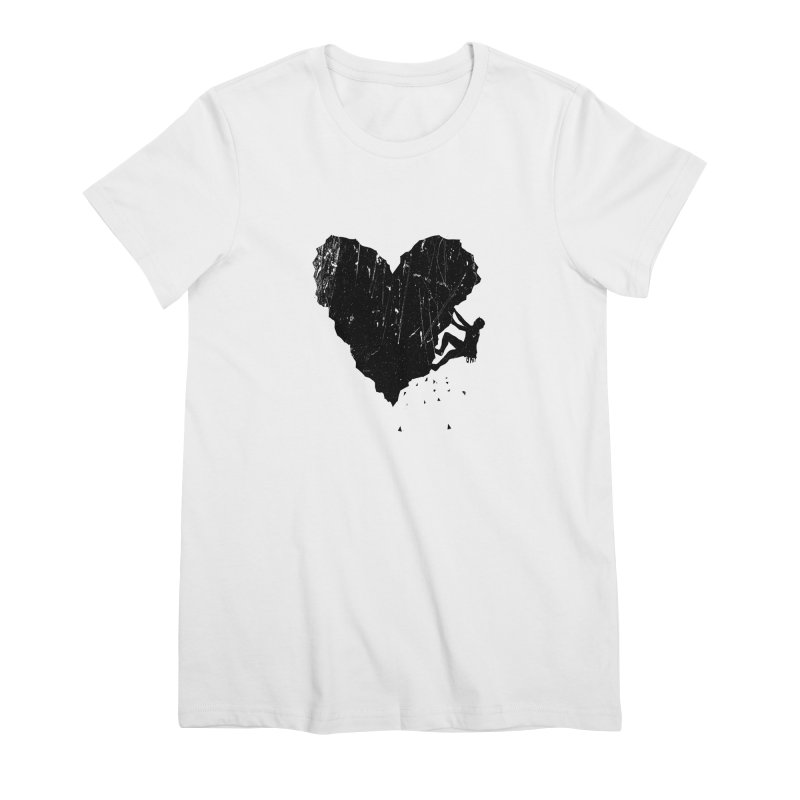 Peak of love Women's Premium T-Shirt by barmalisiRTB