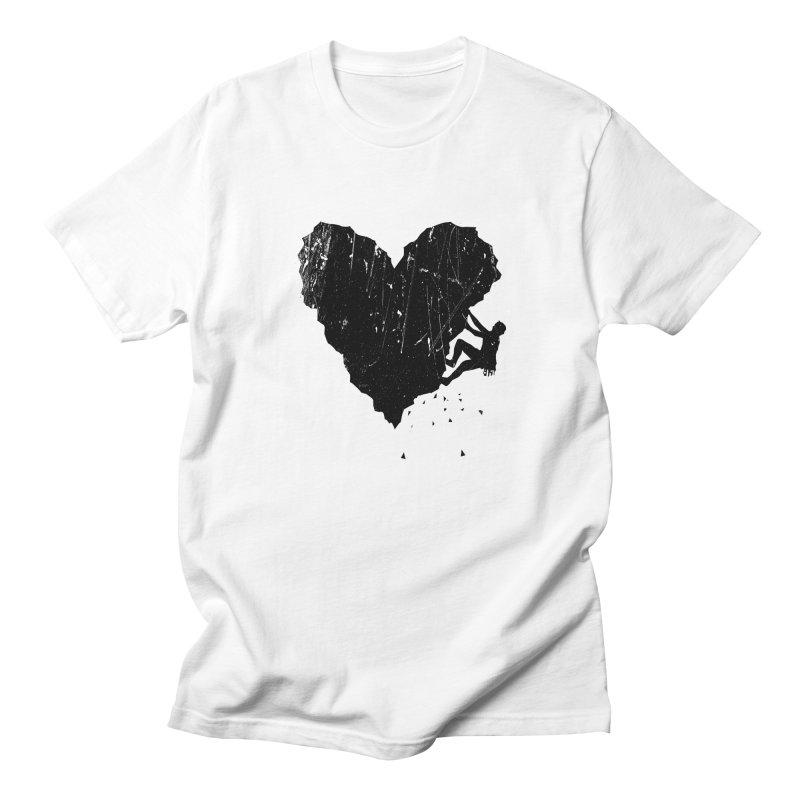 Peak of love Men's Regular T-Shirt by barmalisiRTB
